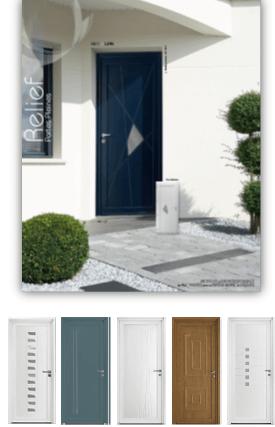 Porte entrée PVC Zendoor 6